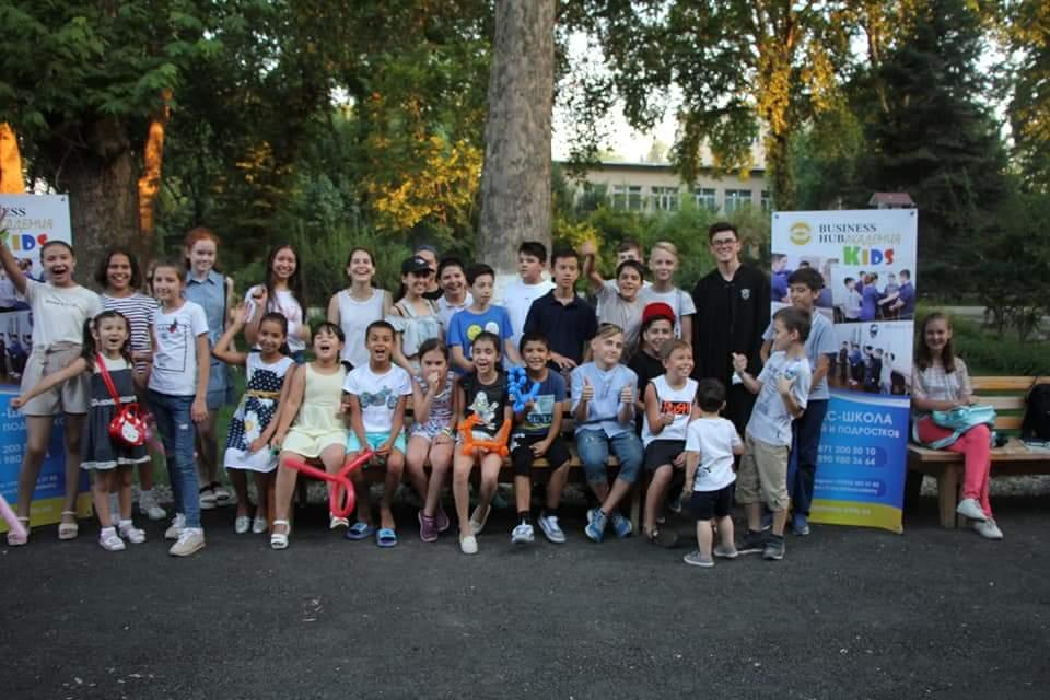 картинка Экскурсия для учеников Business Hub в Арлекино в Ташкенте